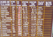 Time Table And Fare Structure